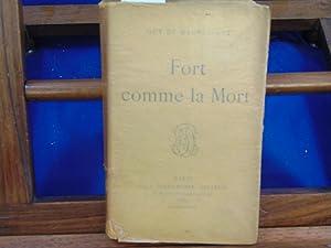 Fort comme la mort. 1889: Maupassant