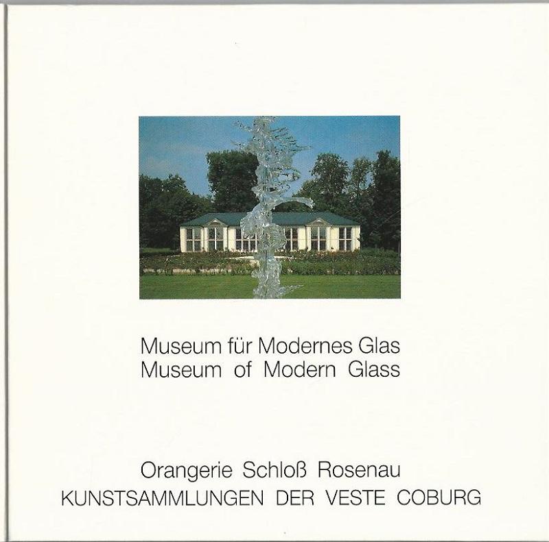 Museum für Modernes Glas   Museum of: Netzer, Susanne: