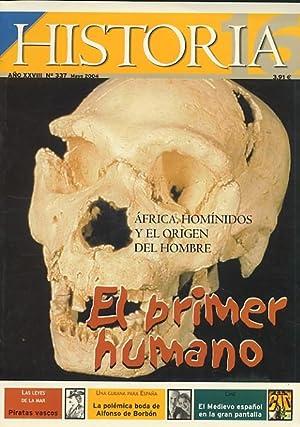 Revista HISTORIA 16 nº 337 EL PRIMER: VV. AA.