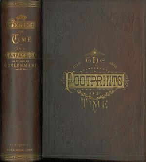 THE FOOTPRINTS OF TIME: and a complete: BANCROFT, Charles.