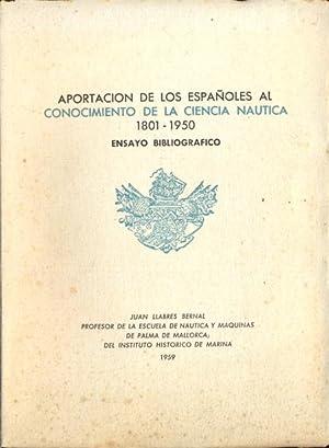 APORTACIÓN DE LOS ESPAÑOLES AL CONOCIMIENTO DE: LLABRES BERNAL, Juan.
