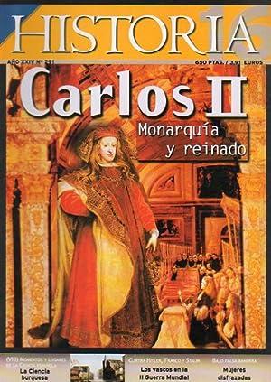 Revista HISTORIA 16. Nº 291. CARLOS II.: VV. AA.
