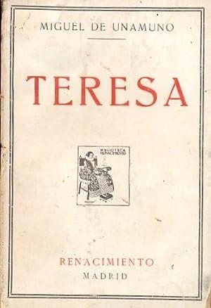 TERESA. Rimas de un poeta desconocido presentadas: UNAMUNO, Miguel de.