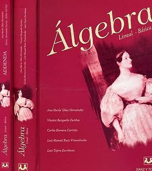 ÁLGEBRA. (Lineal Básica). (Dos volúmenes).: DÍAZ HERNÁNDEZ, Ana