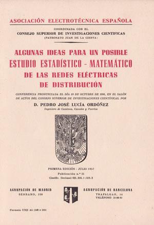 ALGUNAS IDEAS PARA UN POSIBLE ESTUDIO ESTADÍSTICO-MATEMÁTICO: LUCÍA ORDOÑEZ, Pedro