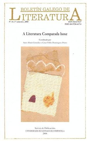 BOLETIN GALEGO DE LITERATURA, Vol. 33 (2006).