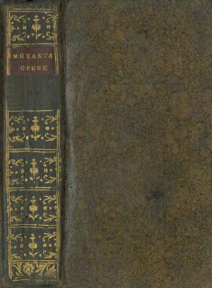 OPERE giusta le correzioni e aggiunte dell'Autore nell'edizione di Parigi del 1780. Tomo XV...
