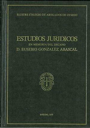 ESTUDIOS JURÍDICOS EN MEMORIA DEL DECANO D.: VV. AA.