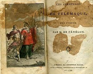 LES AVENTURES DE TÉLÉMAQUE, FILS D'ULYSSE.: FÉNÉLON, M. de.