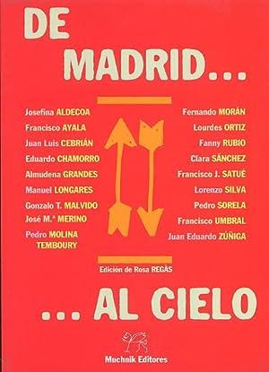 DE MADRID.AL CIELO.: ALDECOA, Josefina -
