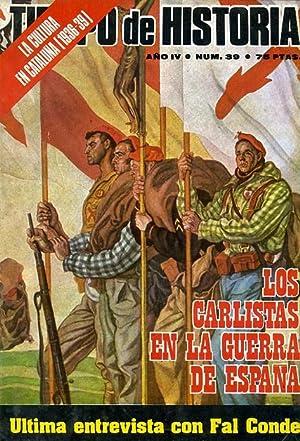TIEMPO DE HISTORIA. nº 39. LOS CARLISTAS: VV. AA.