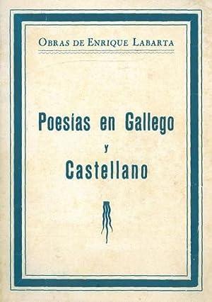 POESÍAS EN GALLEGO Y CASTELLANO.: LABARTA [POSE], Enrique.