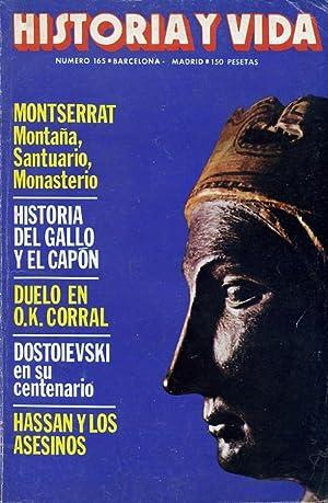 HISTORIA Y VIDA. nº 165. MONTSERRAT: Montaña,: VV. AA.