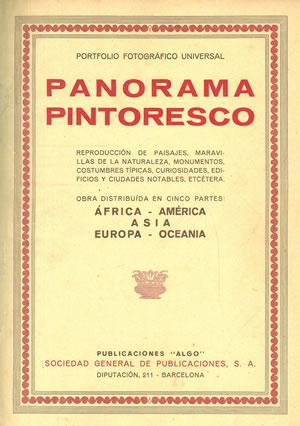 PANORAMA PINTORESCO. REPRODUCCIÓN DE PAISAJES, MARAVILLAS DE