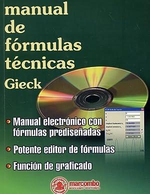 MANUAL DE FÓRMULAS TÉCNICAS. Manual electrónico con: GIECK, Kurt -