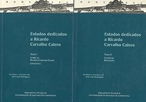 ESTUDOS DEDICADOS A RICARDO CARVALHO CALERO (Obra completa): RODRIGUEZ, José Luis (Coord.)