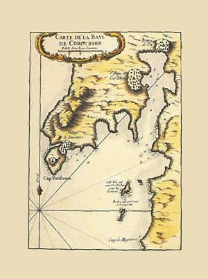 CARTE DE LA BAYE DE CORCUBIÓN.: BELLIN, Jacques Nicolas.