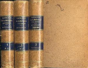 CATÁLOGO DE LA BIBLIOTECA DEL SENADO.