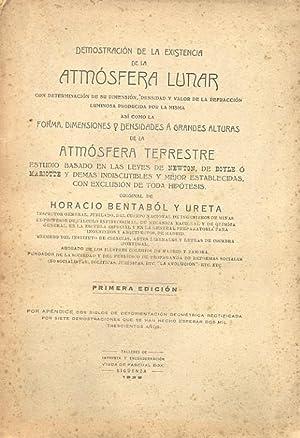 DEMOSTRACIÓN DE LA EXISTENCIA DE LA ATMÓSFERA LUNAR CON DETERMINACIÓN DE SU DIMENSIÓN, DENSIDAD Y ...