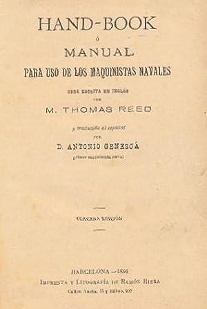 HAND-BOOK O MANUAL PARA USO DE LOS: REED, Thomas -