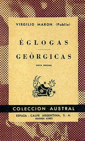 ÉGLOGAS. GEÓRGICAS.: VIRGILIO MARÓN, Publio.