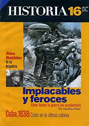 HISTORIA 16. nº 250. IMPLACABLES Y FEROCES: VV. AA.