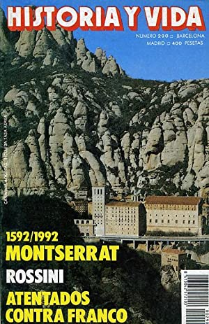 HISTORIA Y VIDA. nº 290. 1592/1992 MONTSERRAT.: VV. AA.