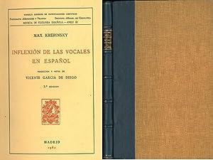 INFLEXIÓN DE LAS VOCALES EN ESPAÑOL.: KREPINSKY, Max.