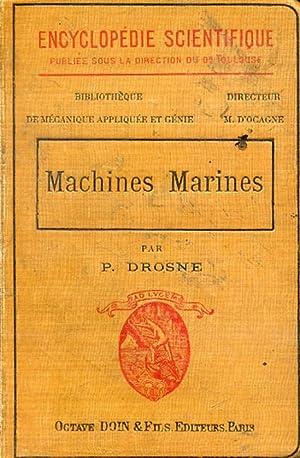 MACHINES MARINES.: DROSNE, P.
