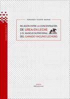 RELACIÓN ENTRE LA CONCENTRACIÓN DE UREA EN: VICENTE MAINAR, Fernando