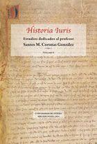 HISTORIA IURIS, Vol. 1.º Estudios dedicados al: ABASCAL MONEDERO, Pablo
