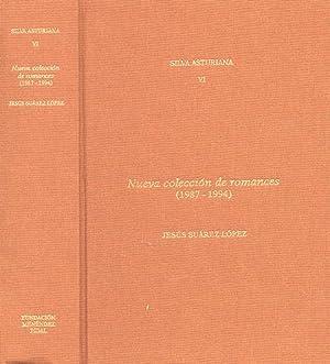 SILVA ASTURIANA VI. NUEVA COLECCION DE ROMANCE (1987-1994): SUÁREZ LÓPEZ, Jesús.