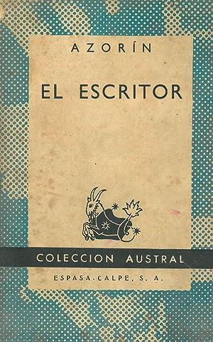 EL ESCRITOR.: AZORÍN.