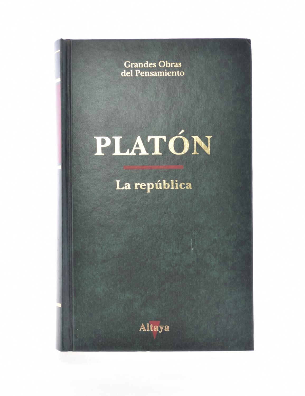 La República De Platón Altaya Barcelona Primera Edición