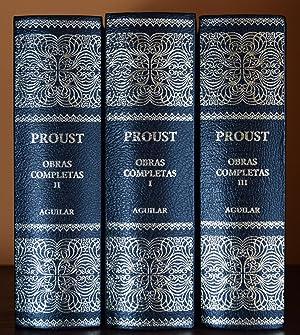 OBRAS COMPLETAS (EDICIÓN COMPLETA EN TRES TOMOS): PROUST, Marcel