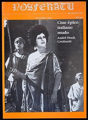 NOSFERATU, REVISTA DE CINE, N.º 4. CINE: GUBERN, Roman /