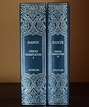 OBRAS COMPLETAS, I y II (EDICIÓN COMPLETA): ALIGHIERI, Dante