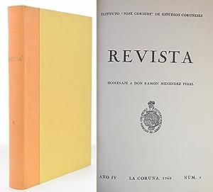 REVISTA, AÑO IV, NÚM. 4. HOMENAJE A: ANGLÉS PAMIES, Higinio