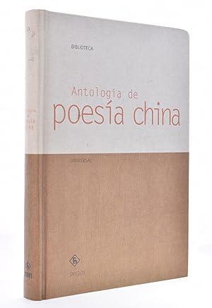 ANTOLOGÍA DE POESÍA CHINA: PRECIADO IDOETA, Juan Ignacio (Ed.)