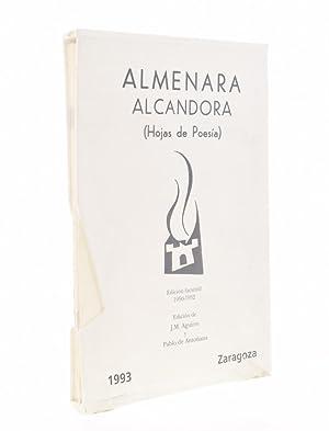 ALMENARA ALCANDORA (HOJAS DE POESÍA): AGUIRRE, J. M.
