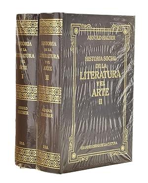 HISTORIA DE LA LITERATURA Y EL ARTE,: HAUSER, Arnold