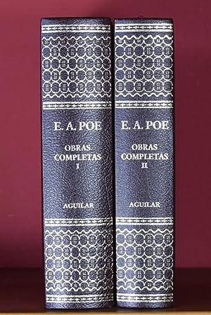 OBRAS COMPLETAS (EDICIÓN COMPLETA EN DOS TOMOS): POE, Edgar Allan