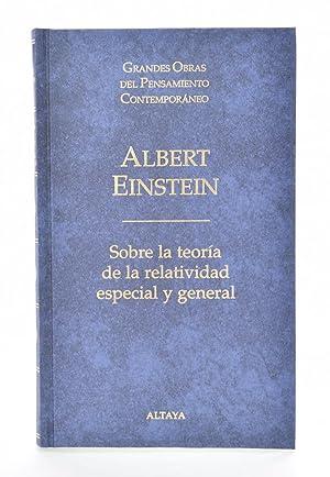 SOBRE LA TEORÍA DE LA RELATIVIDAD ESPECIAL: EINSTEIN, Albert