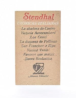 CRÓNICAS ITALIANAS: STENDHAL
