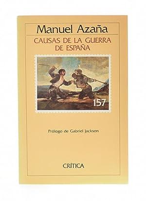 CAUSAS DE LA GUERRA DE ESPAÑA: AZAÑA, Manuel