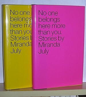No One Belongs Here More Than You: July, Miranda