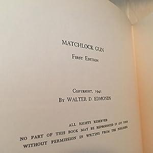 The Matchlock Gun: Edmonds, Walter D.