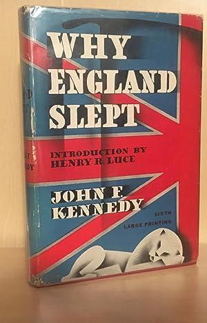 Why England Slept: Kennedy, John F.