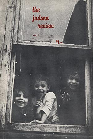 Judson Review, Volume 1 (May 1963): Carmines, Al, and Don Katzman (eds.), Anselm Hollo, Jackson Mac...