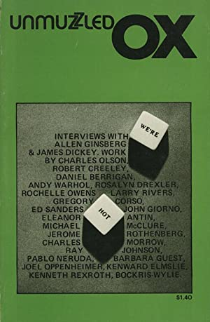 Unmuzzled Ox 10 (Volume 3, Number 2,: Andre, Michael (ed.),